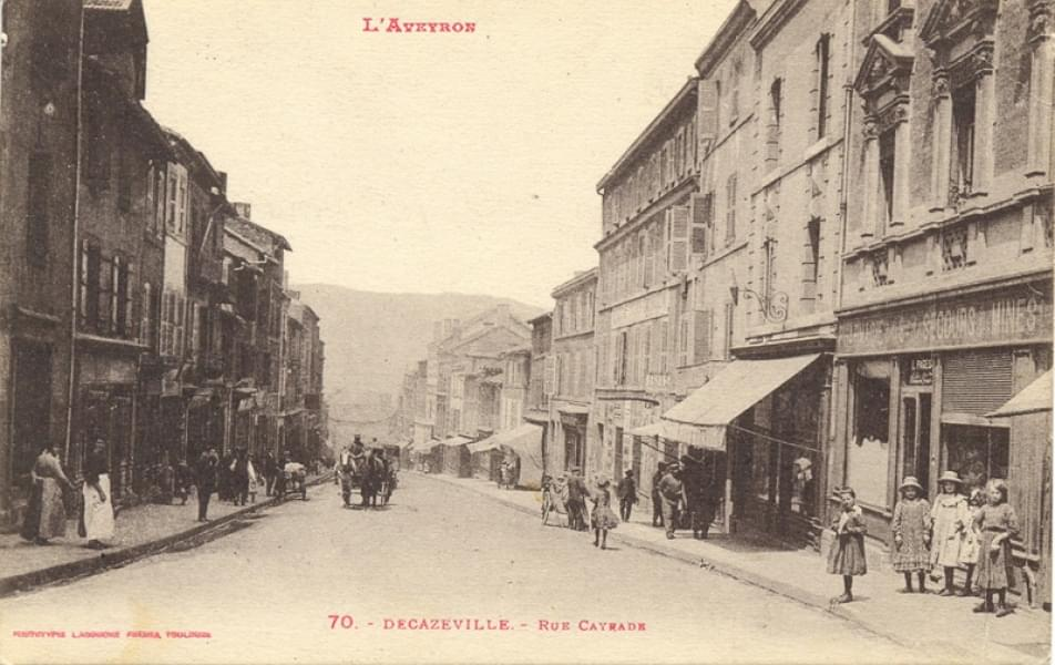 Côte d'Or - Rue Cayrade - L'Aveyron