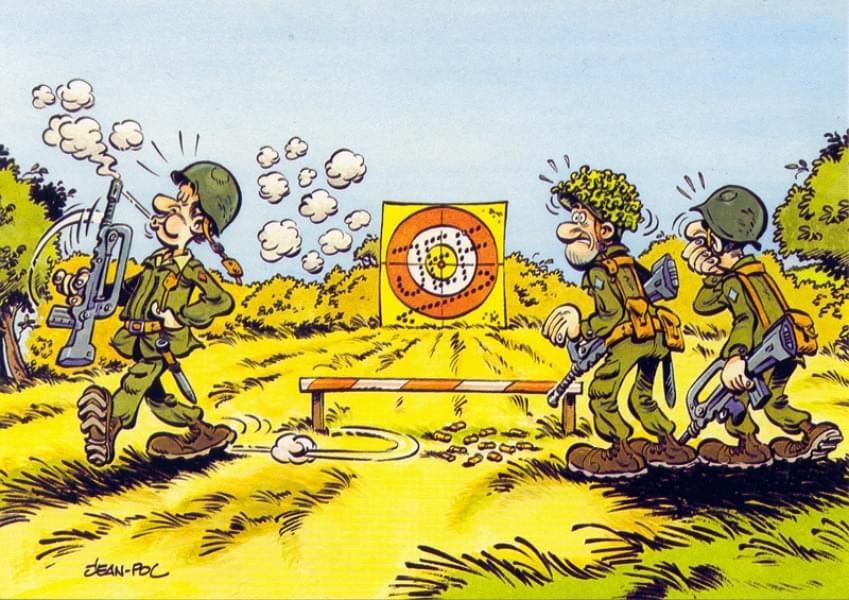 Cartes Postales - Militaire Humour