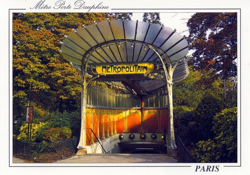 Cartes postales du monde paris m tro porte dauphine - Portes ouvertes paris dauphine ...