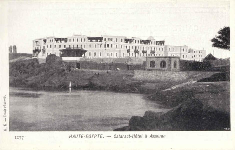 Egypte - Cataract-Hôtel à Assouan