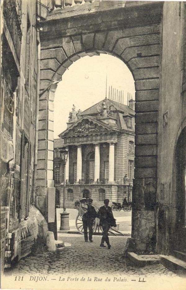 Cartes postales dijon - Porte du diable dijon ...